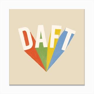 Daft Canvas Print