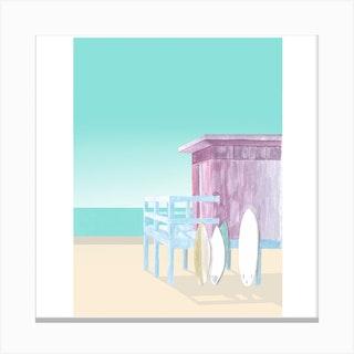 Salt&Surf   Surf Club Canvas Print