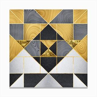 Geometric XXIV Canvas Print