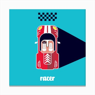 Racer One Canvas Print
