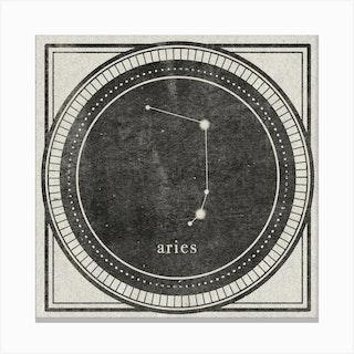 Zodiac Aries Canvas Print
