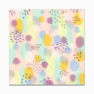 Pop Candy Canvas Print