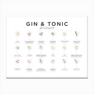 Gin and Tonic Landscape Canvas Print
