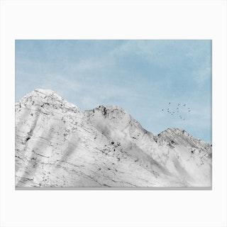 Marble Landscape VI Canvas Print
