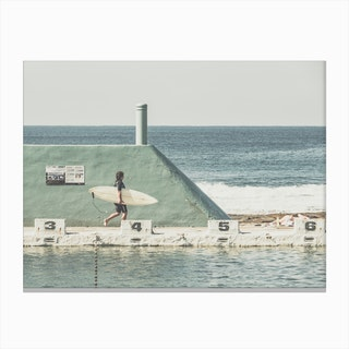 Surfer 1 Canvas Print