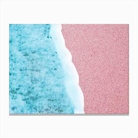 Rose Beach Canvas Print