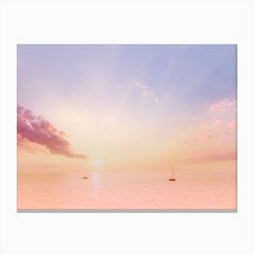 Sailing On The Seas Canvas Print
