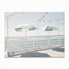 Blue Malibu Canvas Print