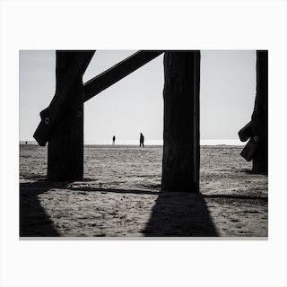 At the Beach 1 Canvas Print