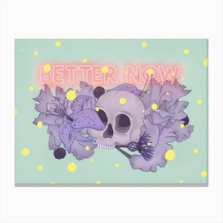 Better Now Canvas Print