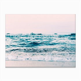 Ocean Blush Canvas Print