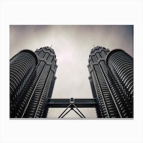 Petronas Twin Towers 2 Canvas Print