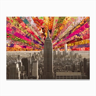 Blooming NY in Canvas Print