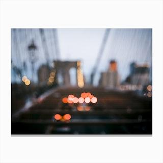 Brooklyn Blur Canvas Print