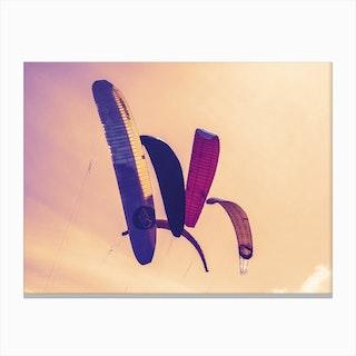 Beach Kite_2 Canvas Print