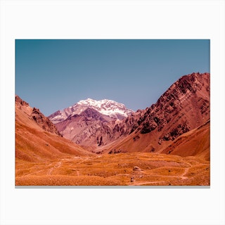 Rust Mountains Canvas Print