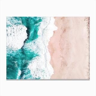Aerial Beach Canvas Print