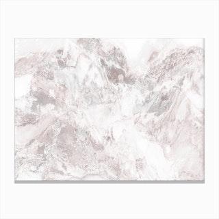 White Marble Mountain III Canvas Print