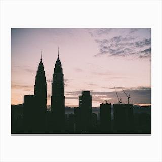 Kuala Lumpur Morning 2 Canvas Print