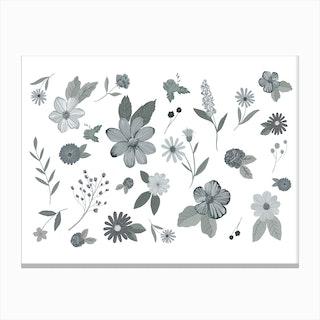 Gray Gardens Canvas Print