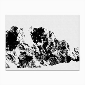 Mountains I Canvas Print