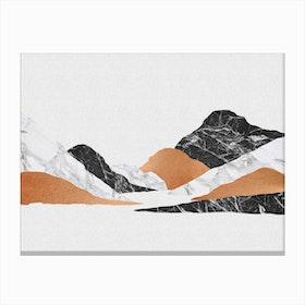 Marble Landscape II Canvas Print