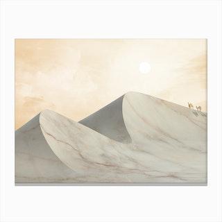 Marble Landscape VIIII Canvas Print