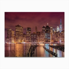 New York City Nightly Impressions Canvas Print