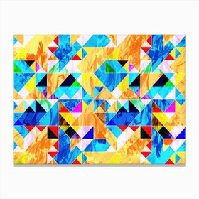 Geometric VIII Canvas Print