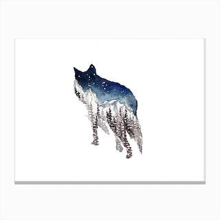 Wolf I Canvas Print