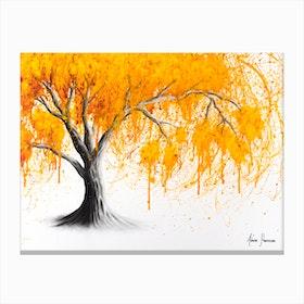 Rusting Desert Tree Canvas Print