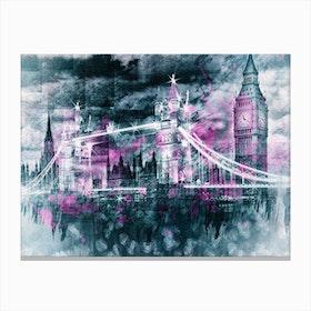 City Art London Composing Canvas Print