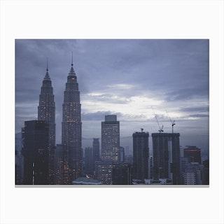 Kuala Lumpur Morning 5 Canvas Print