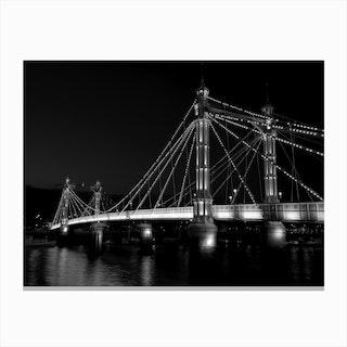 Albert Bridge I Canvas Print