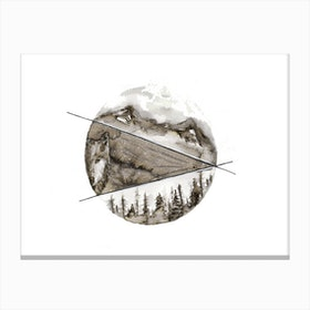 Northern Canvas Print