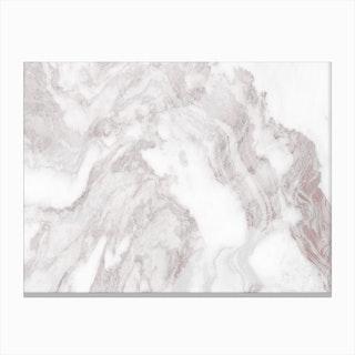 White Marble Mountain II Canvas Print