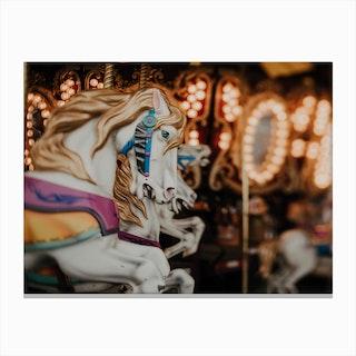 Horses And Memories Canvas Print