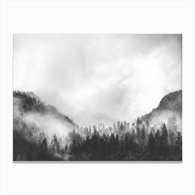 Moody Clouds IV Canvas Print