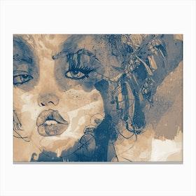Kiss Me II Canvas Print