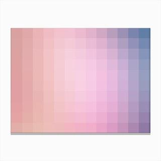 Lumen 07, Lilac and Violet Gradient Canvas Print