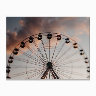 Theferriswheel Canvas Print