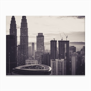 Kuala Lumpur Morning 1 Canvas Print
