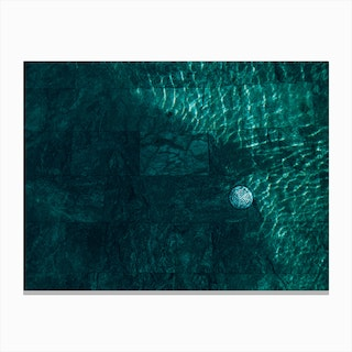 Pool Canvas Print