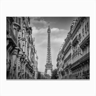 Parisian Flair Canvas Print