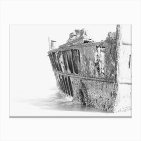 Shipwreck Fraser Island Canvas Print