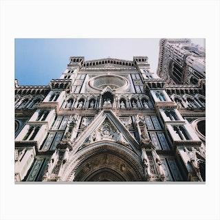 Cathedral Santa Maria Canvas Print