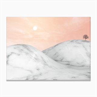 Marble Landscape VIII Canvas Print