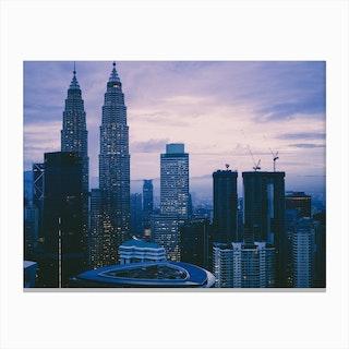 Kuala Lumpur Morning 4 Canvas Print