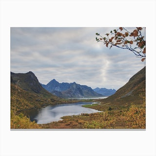 Stopping for the View Canvas Print
