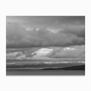 Highlands in sight Canvas Print